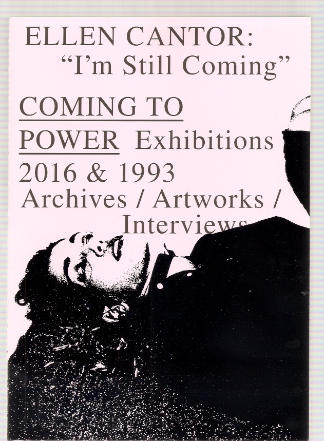 "CANTOR, Ellen - ""I'm Still Coming"" COMING TO POWER 2016 & 1996"