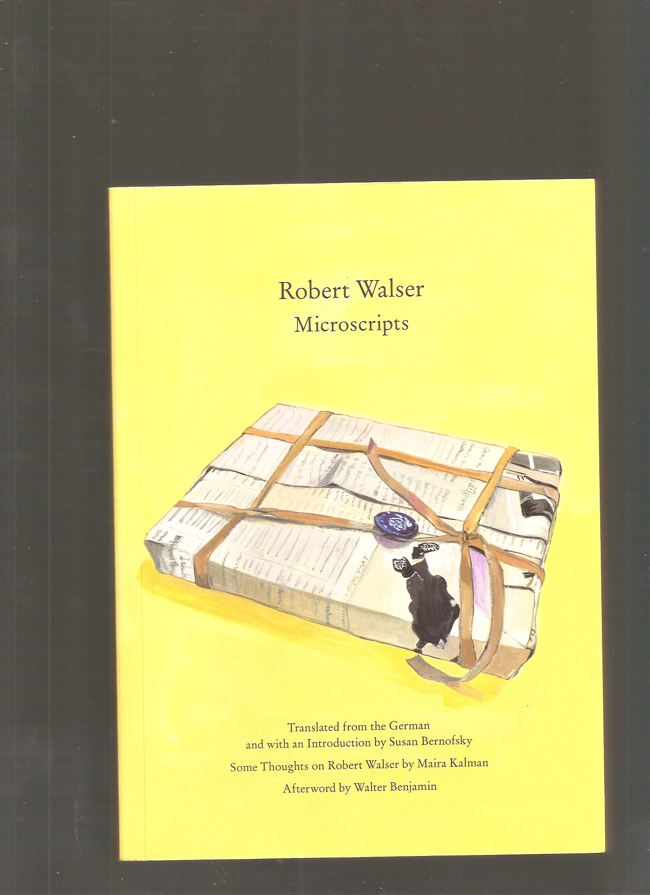 WALSER, Robert - Microscripts