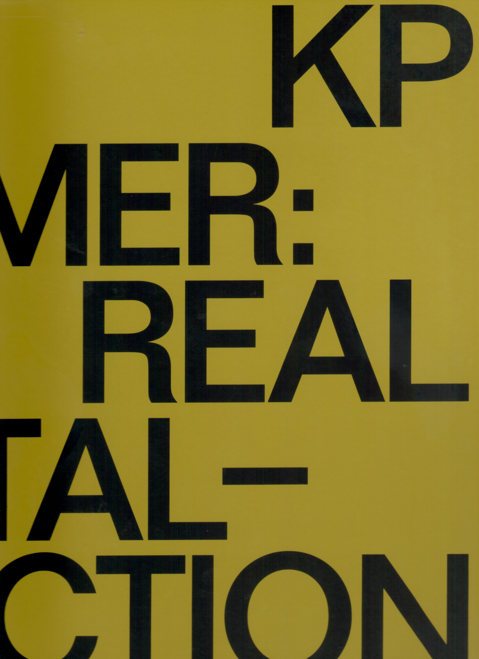 BREHMER, KP - KP BREHMER: REAL CAPITAL-PRODUCTION