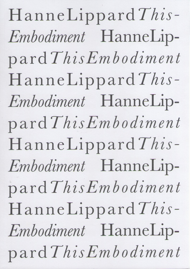 LIPPARD, Hanne - This Embodiment
