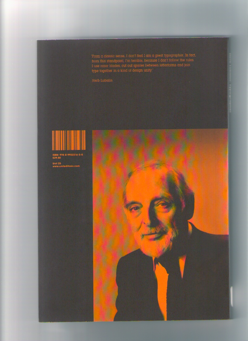 BROOK, Tony; SHAUGHNESSY, Adrian (eds.) - Herb Hubalin: Typographer