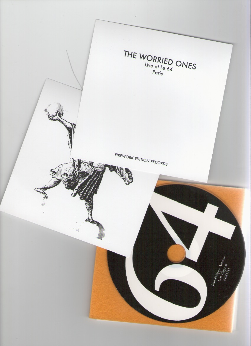 THE WORRIED ONES (ANTOINE, Jean-Philippe; ELGGREN, Leif) - Live at le 64