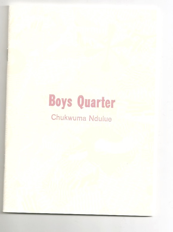 NDULUE, Chukwuma - Boys quarter