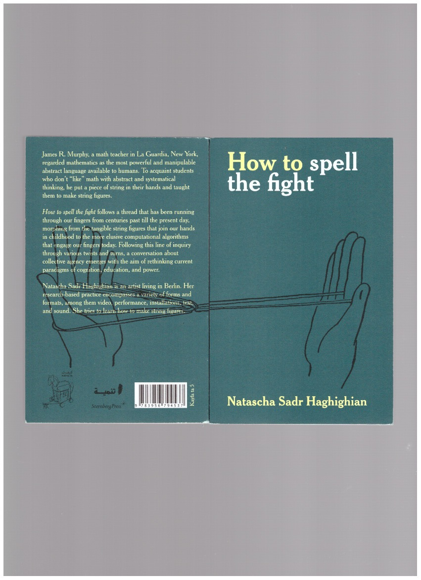 SADR HAGHIGHIAN, Natascha - How to spell the fight