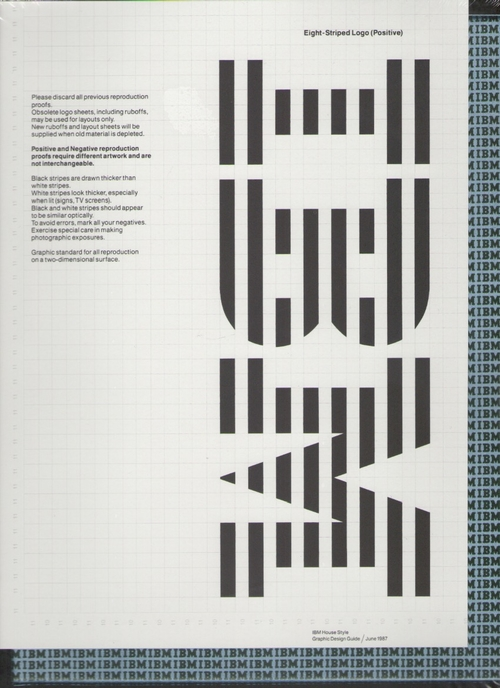 IBM - IBM Graphic Design Guide from 1969 to 1987 (éditions Empire)