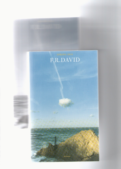 HOLDER, Will (ed.) - F.R.David (N) Spring 2018 – 'Flurry' (uh books)
