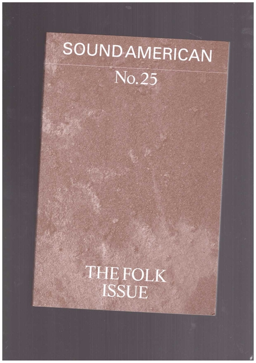 Various - Sound American #25 – The Folk Issue (Sound American)
