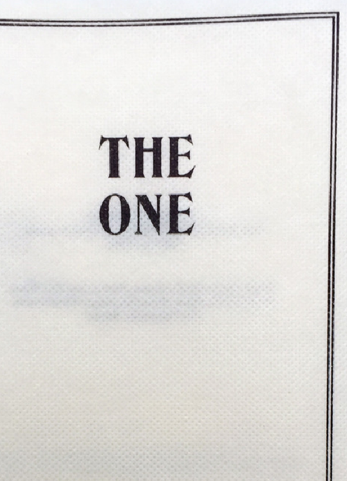 The One & Patricide, by Jos Bitelli