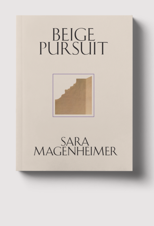 Sara Magenheimer's Beige Pursuit with Claire Finch, Émilie Notéris, and Barbara Sirieix !!