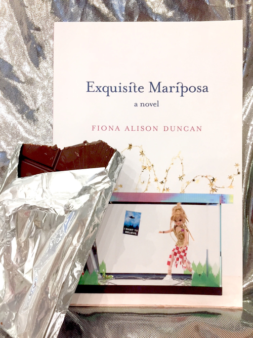 Booklaunch } Exquisite Mariposa, a novel by Fiona Alison Duncan