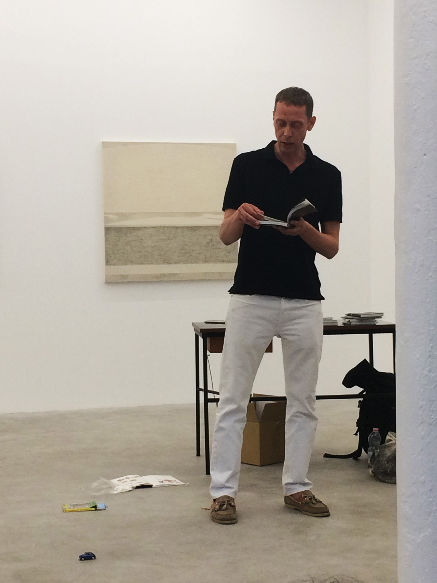 - LE LARGE _ Julie Beaufils. Book Launch & Readings at Balice Hertling
