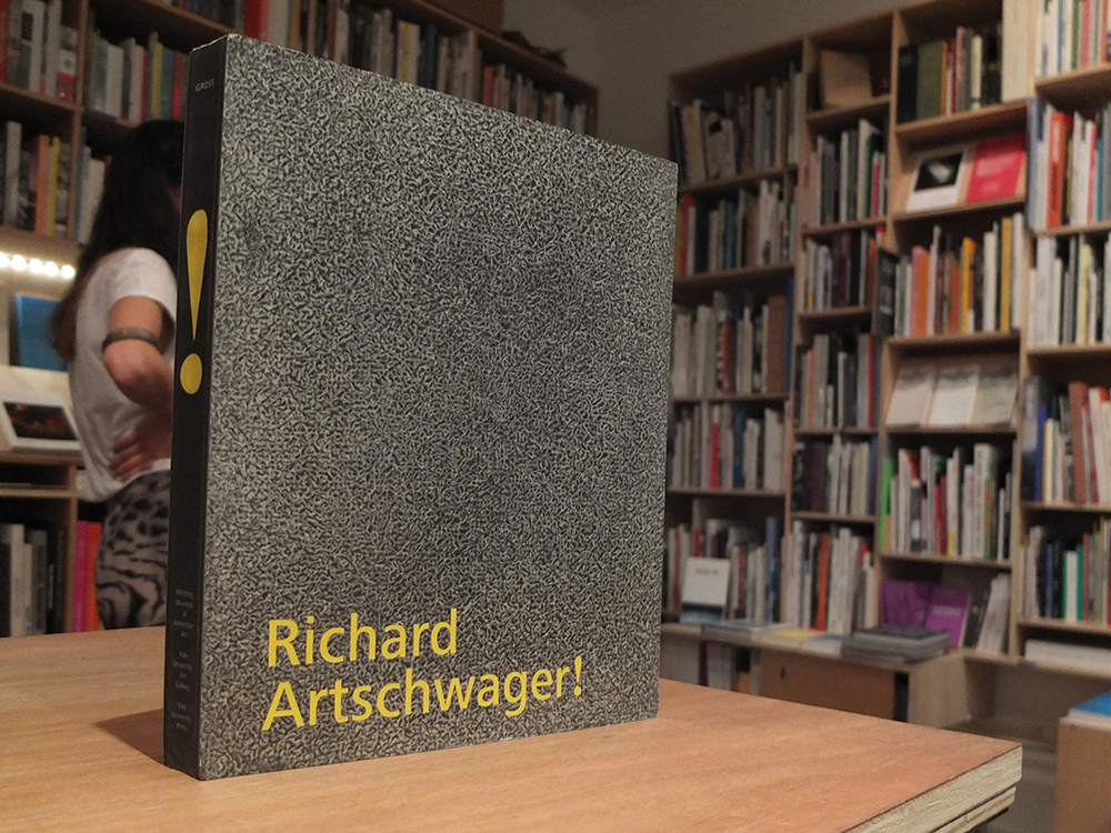 ARTSCHWAGER, Richard; GROSS, Jennifer R. (ed.) - Richard Artschwager!