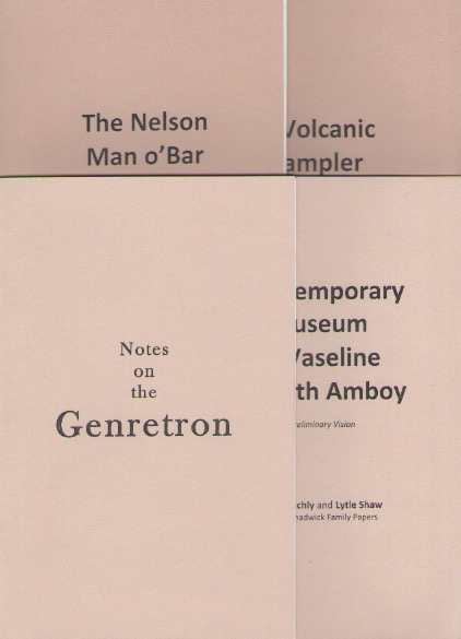 SHAW, Lytle; BLACHLY, J. - Notes on the Genretron