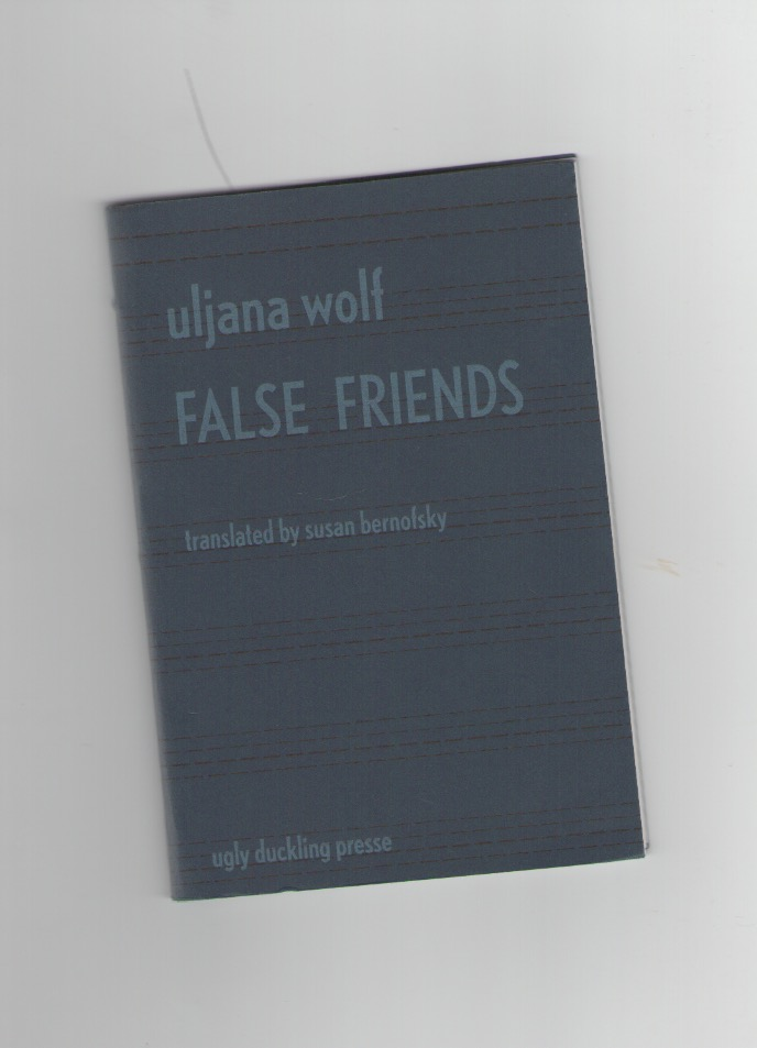 WOLF, Uljana - False Friends