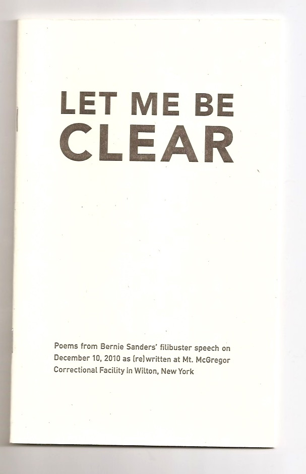 BENSON, Cara (ed.) - Let me be clear