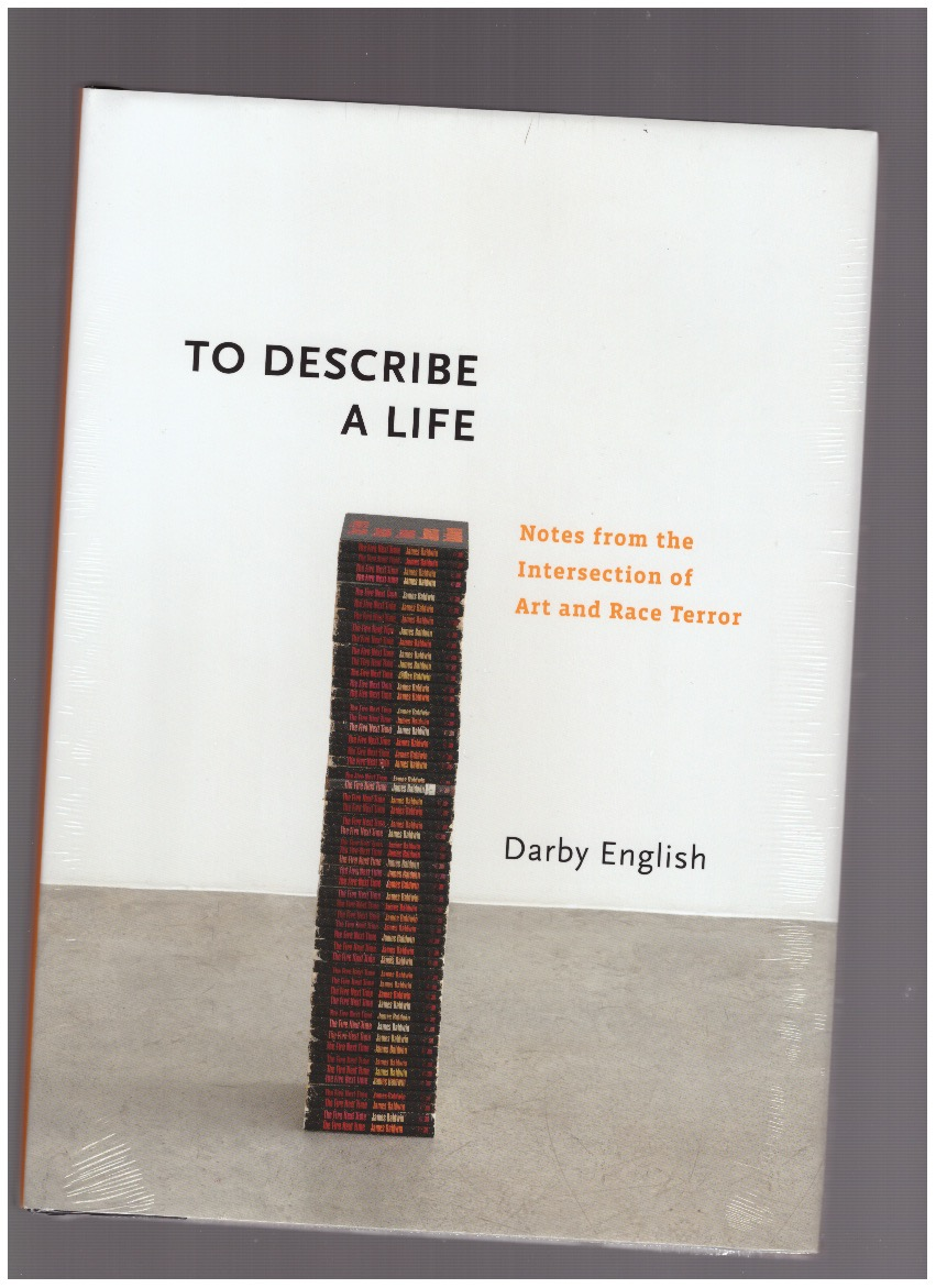 ENGLISH, Darby - To Describe a Life. Notes from the Intersection of Art and Race Terror