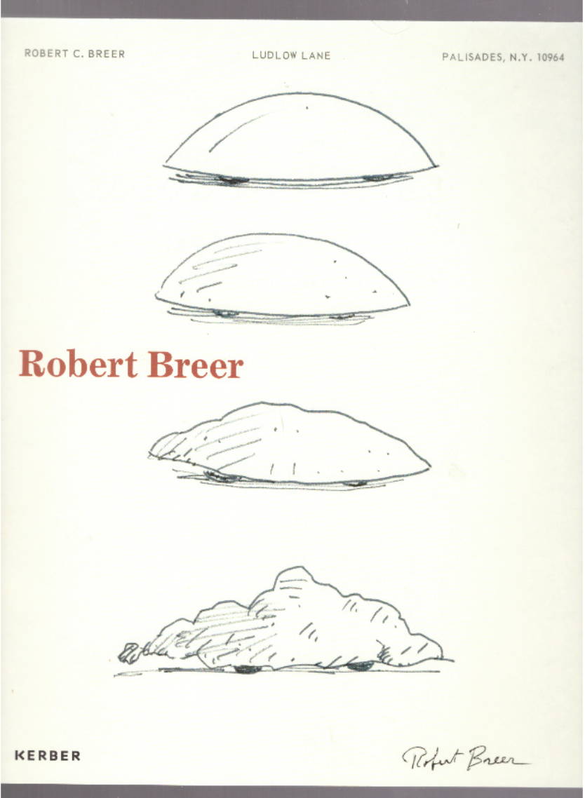 BREER, Robert; PARDEY, Andres (ed.) - Robert Breer
