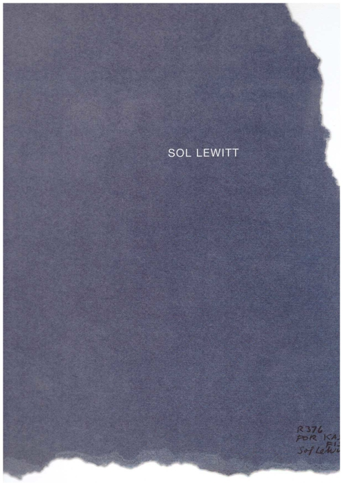 LEWITT, Sol - Not to be sold for more than 100$ (Radius Books)